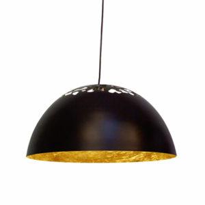 Φωτιστικό Καμπάνα Μάυρο/Χρυσό