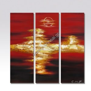 Πίνακας Ζωγραφικής 90x90 cm