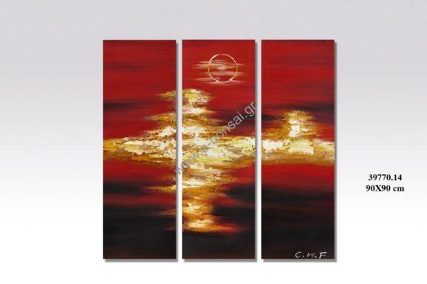 Πίνακας Ζωγραφικής 90×90 cm 1