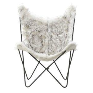 Καρέκλα Συνθετική Γούνα