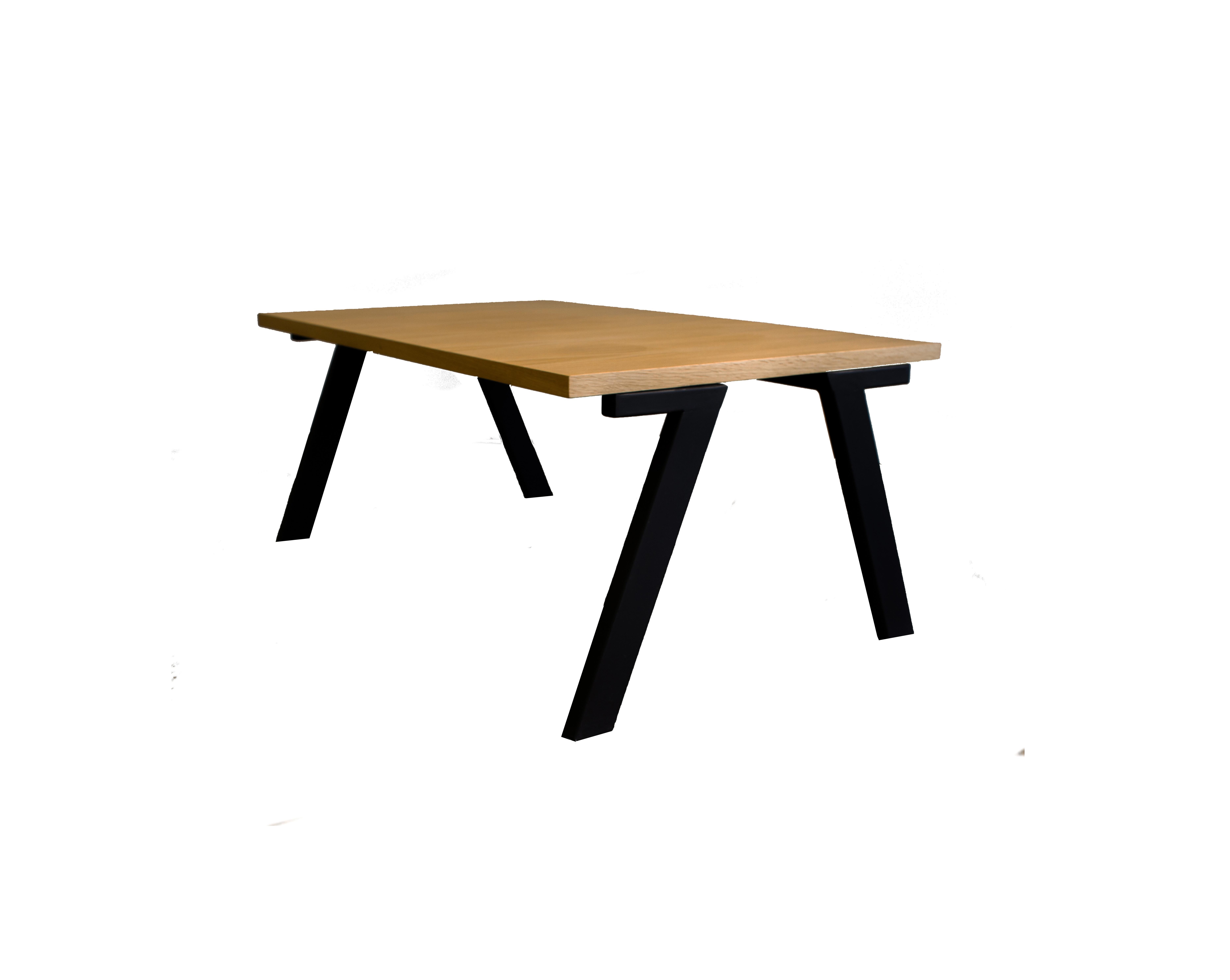 Τραπέζι Σαλονιού Μοντέρνο Ξύλο Σίδερο