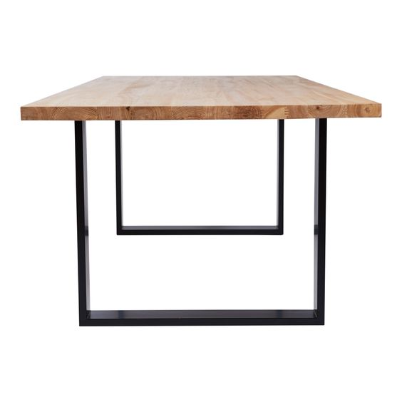 Τραπέζι Τραπεζαρίας Μέταλλο με Ξύλο