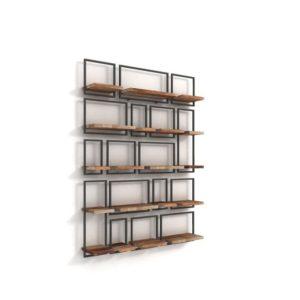 Ραφιέρα τοίχου - Βιβλιοθήκη