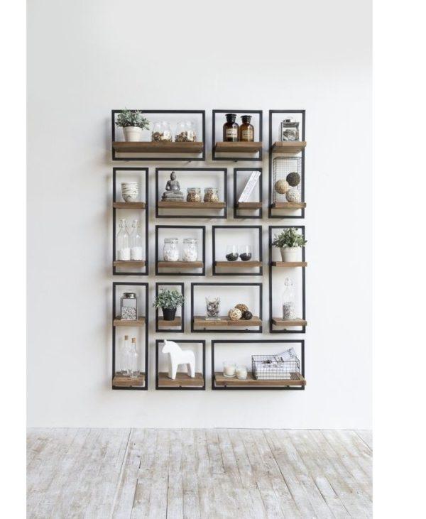 Ραφιέρα τοίχου – Βιβλιοθήκη 6