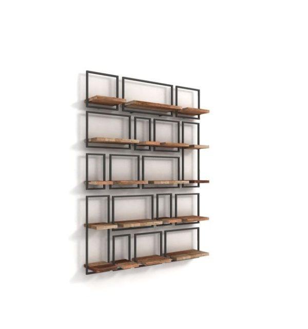 Ραφιέρα τοίχου – Βιβλιοθήκη