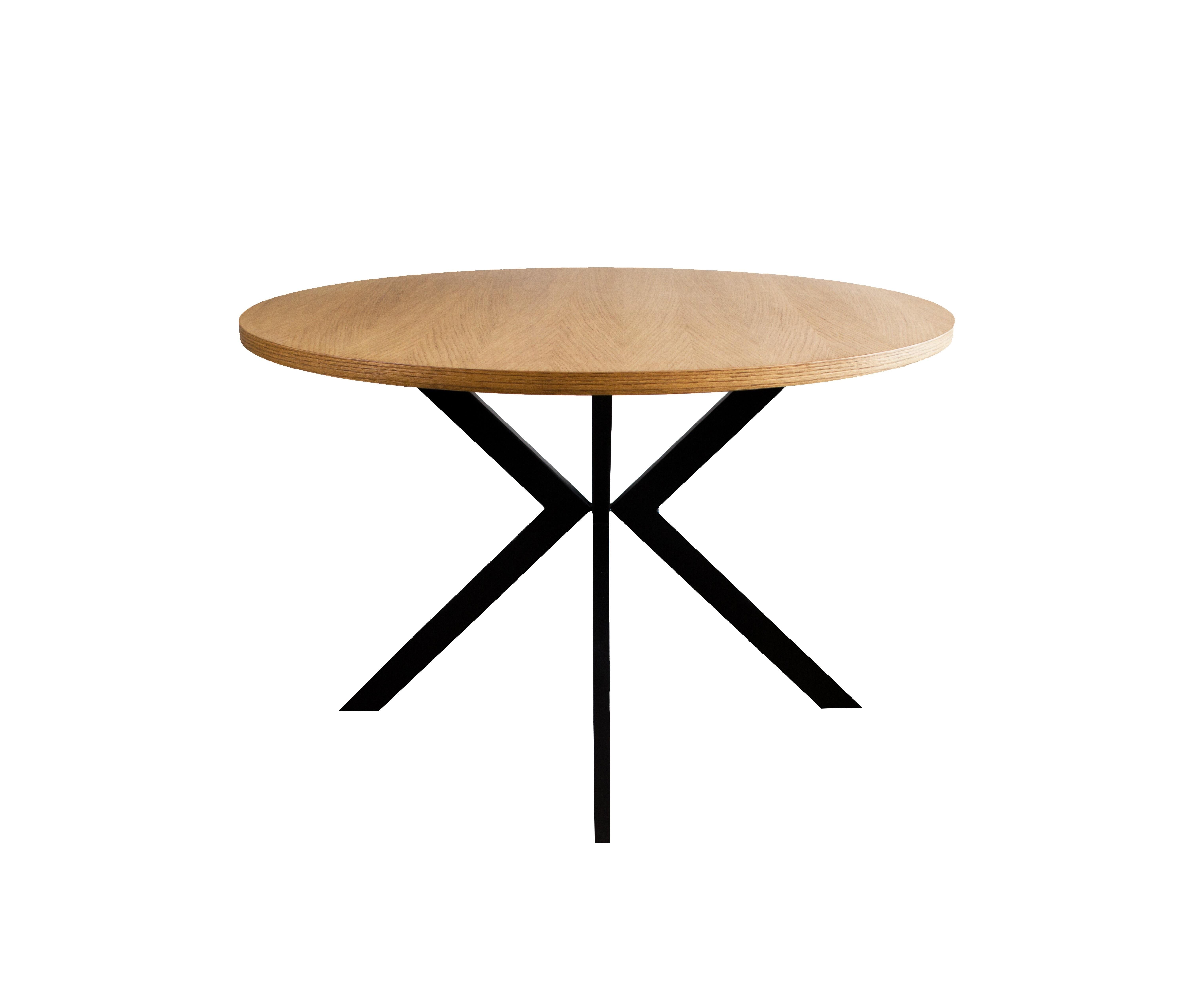 Τραπέζι Ροτόντα Ξύλο Σίδερο