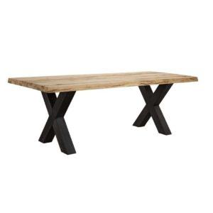 Τραπέζι Τραπεζαρίας Industrial Ξύλο Σίδερο