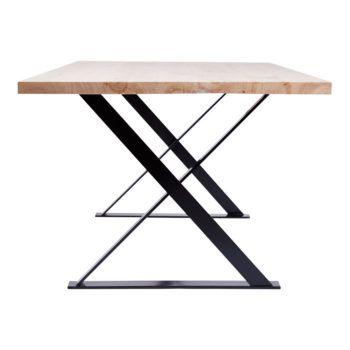 Τραπέζι Τραπεζαρίας Ξύλο Σίδερο