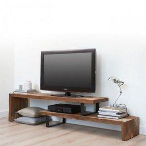 Έπιπλο TV Ξύλο / Σίδερο Μοντέρνο